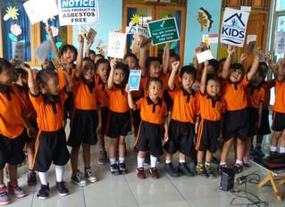 SIARAN PERS: Stop Cat Bertimbal dan Atap Asbes di Fasilitas Pendidikan Anak Indonesia