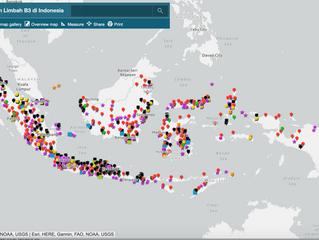 Peta Terintegrasi B3 dan Limbah B3 di Indonesia