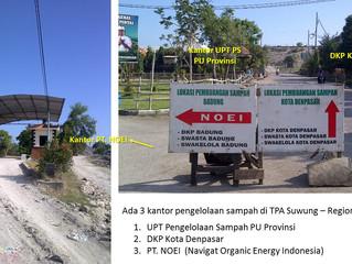 LANDFILL (or DUMPSITE ?) Suwung for Regional Sarbagita, Bali