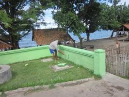 Rehabilitation on DEWATS-CBS in Sumbawa Regency, West Nusa Tenggara Province
