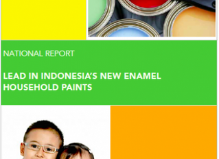 Study finds Indonesian paints with High Lead Levels Commonly Sold in Market Improvement Among Market