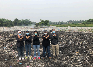 Stop acting as the dump site: environmental activists remind Jokowi