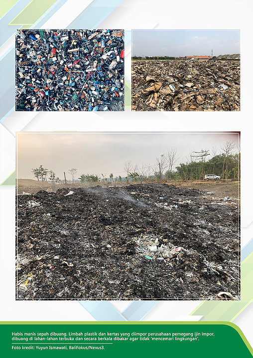 Export and Import of Plastic Waste Situation in Indonesia