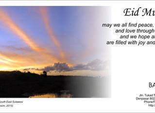 Eid Mubarak Greetings / Selamat Idul Fitri 1437H