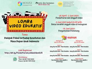 """Lomba Video Edukatif """"Dampak Polusi terhadap Kesehatan dan Masa Depan Anak Indonesia"""""""