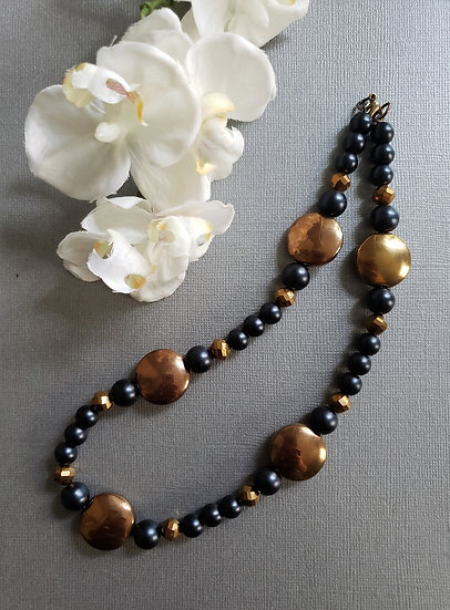 Black and Rustic Necklace