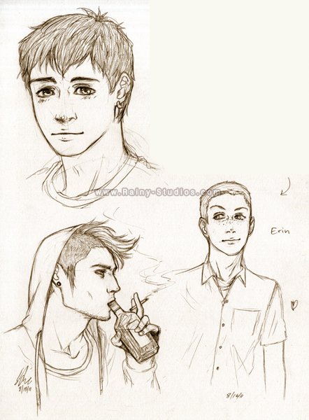male sketches