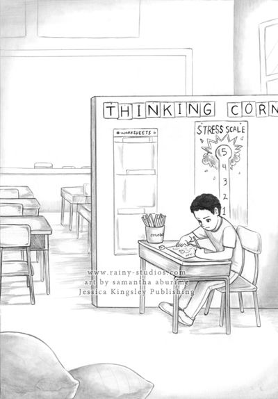 Calebs Healin Story Illustrations