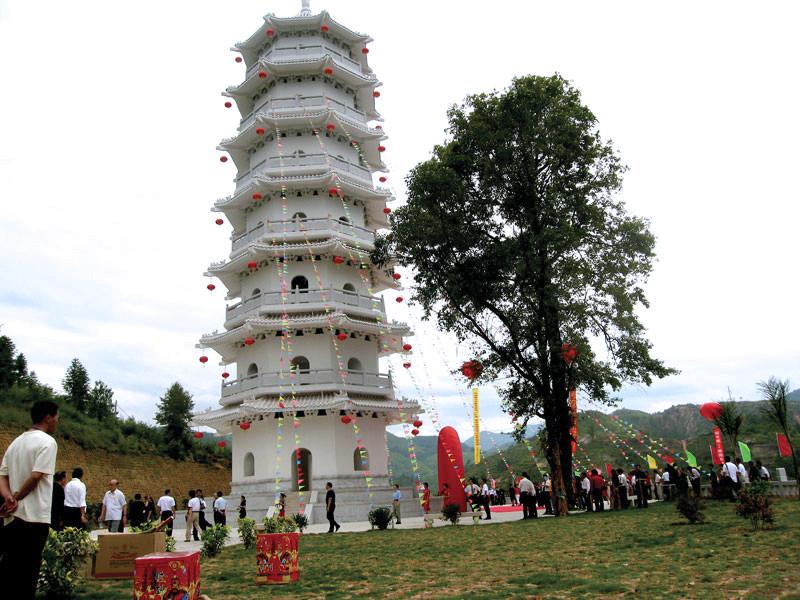 Tiger Pagoda, Zhongchuan, Fujian, China
