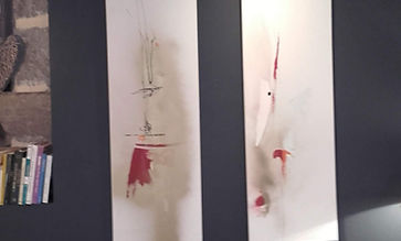 Eric Chesneau, atelier 32 la minoterie, Abstrait, non figuratif, gîte Nasbinals