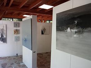 Eric Chesneau, atelier 32 la minoterie, Abstrait, non figuratif, Les journées du patrimoine Belcastel