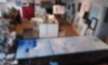 Eric Chesneau, atelier 32 la minoterie, Abstrait, non figuratif,