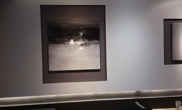 Eric Chesneau, atelier 32 la minoterie, Abstrait, non figuratif, Restaurant / salon de thé, l'influent