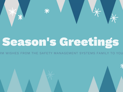 Happy Holidays from Safety Management Systems!