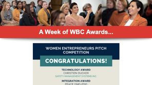 CEO Christien Ducker Wins Technology Award at Women Entrepreneurs Pitch Competition