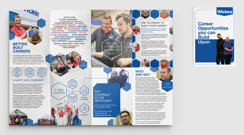 Wickes fold out brochure