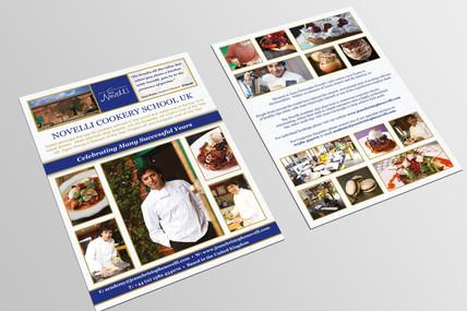 Novelli Academy Cookery School Leaflet