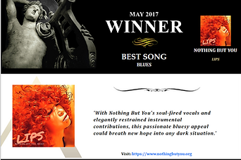 'LIPS' BEST BLUES SONG May 2017, The Akademia Awards