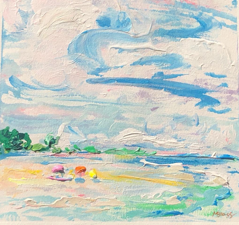 Breezy Beach by Margaret Bragg
