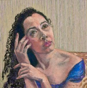 Pastel Arielle by Margaret Simon
