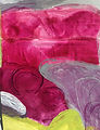 Magenta Abstract Painting Collection