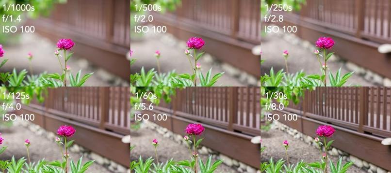Same Exposure on Each Frame