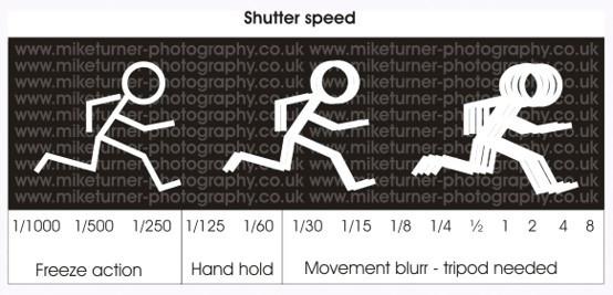 Shutter Speed & Movement