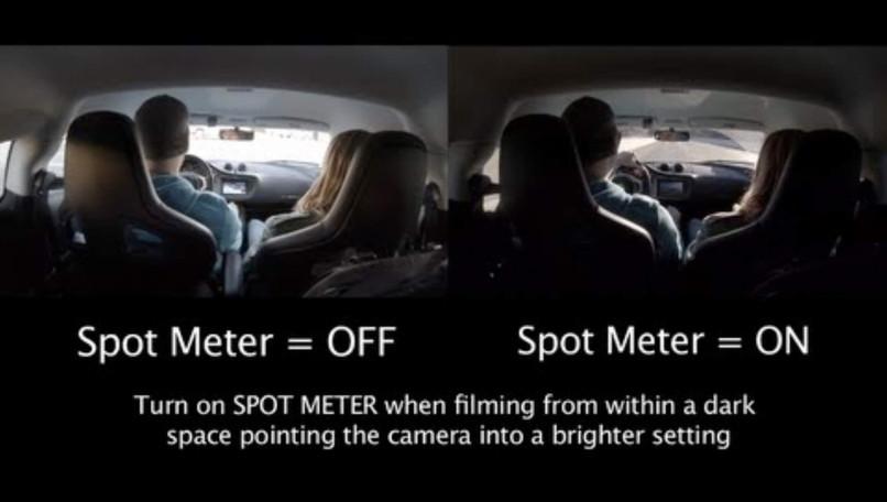 Spot Meter Example