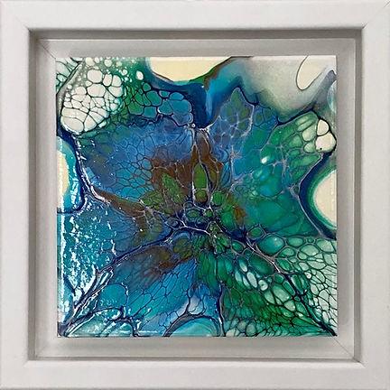 Acrylic 1st Emerald Swallowtail by Jessi