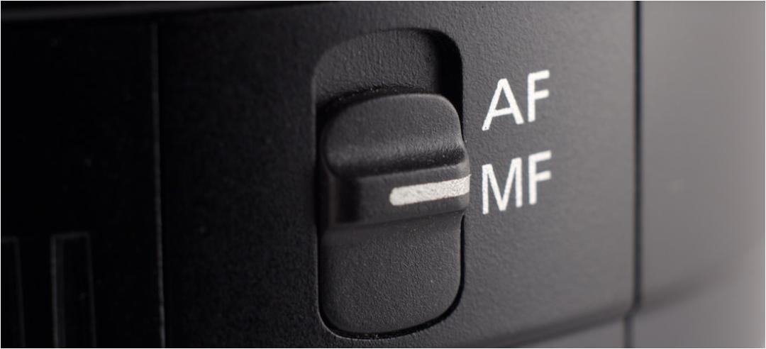 Auto Focus and Manual Focus Switch