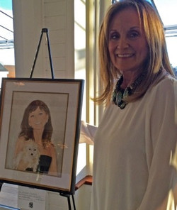 11 Elaine Conner w Her Painting