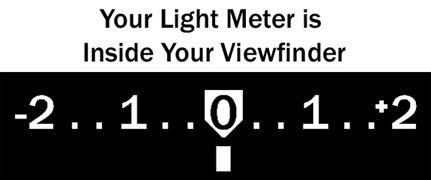Internal Light Meter Setting