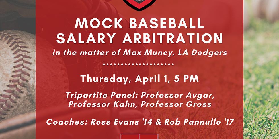 SBS vs SCRC Mock Baseball Arbitration