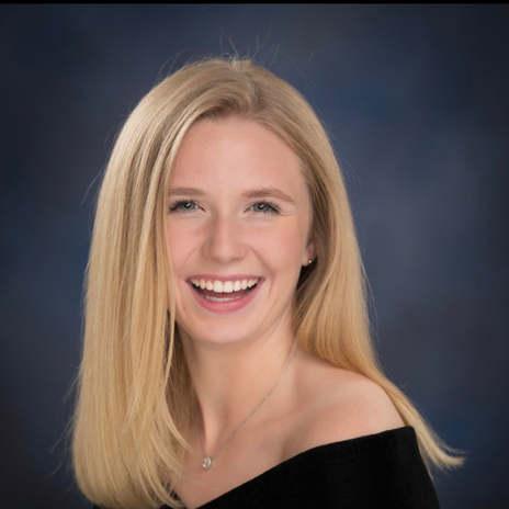 Olivia McCann '22, VP of Career Services & Alumni Affairs