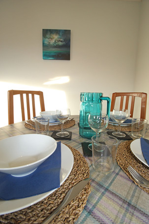The Clamshell dining table