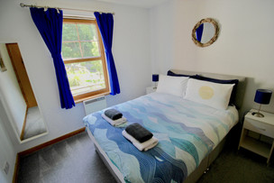The Clamshell double bedroom