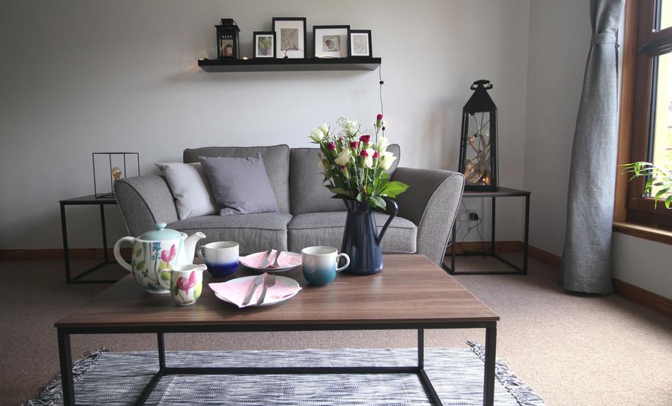 Six Stevenson House living space