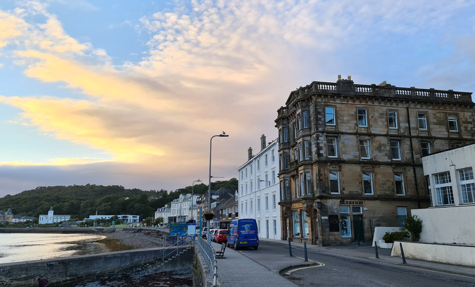 The Oban Times Building on the seafront Esplanade