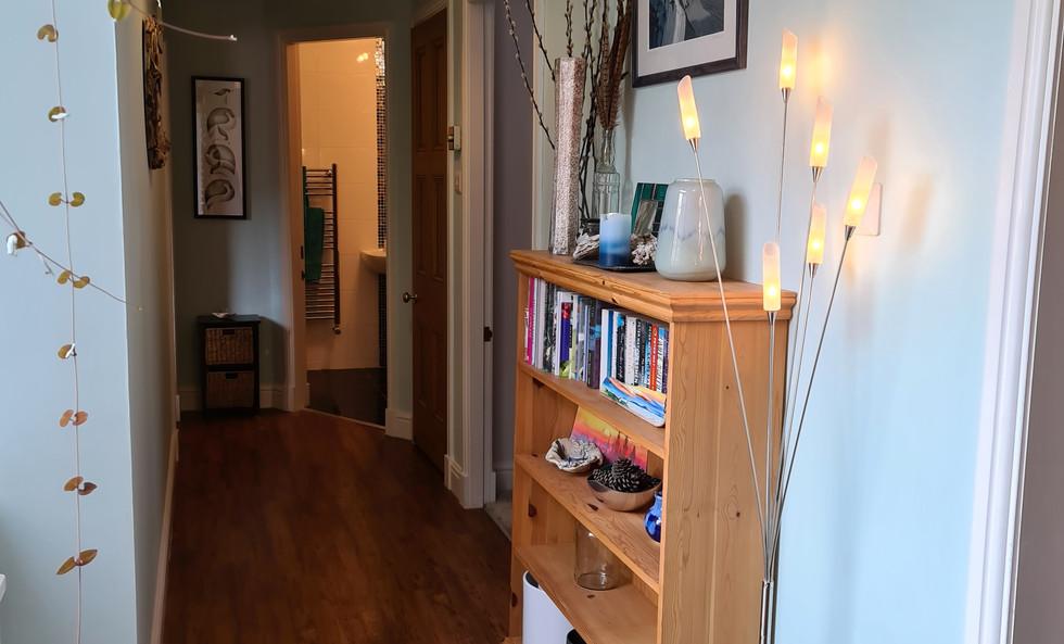 The Editor's Choice hallway