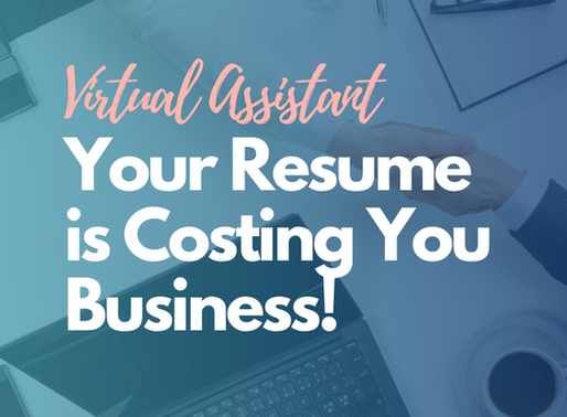 Your Resume Is Costing You Clients