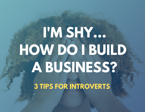 I'm Shy - How Do I Build A Business?