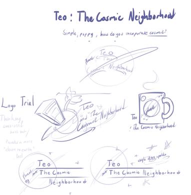 Mockup - Teo and the Cosmic Neighborhood