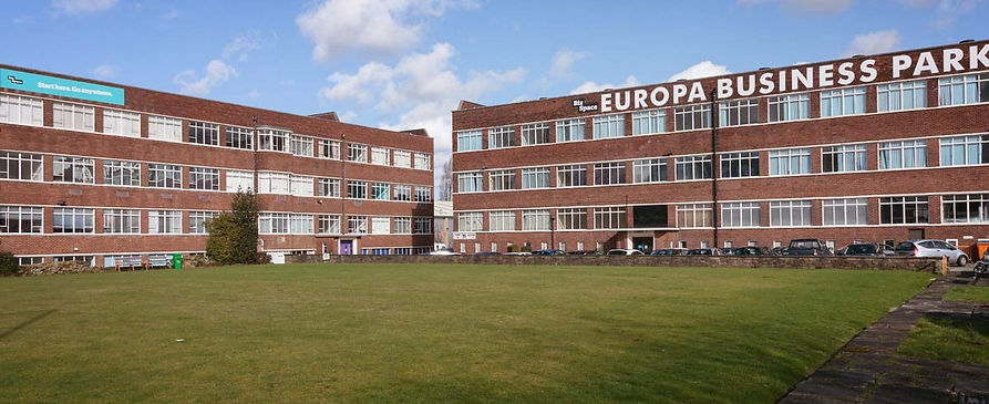 Europa Business Park - The School of Decorative Art Location