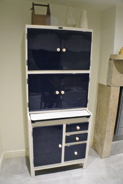 High gloss painted furniture