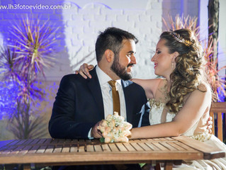 Fotografia do casamento da Rackel e George