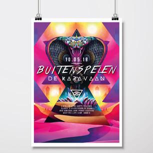 Buitenspelen | Poster 2018