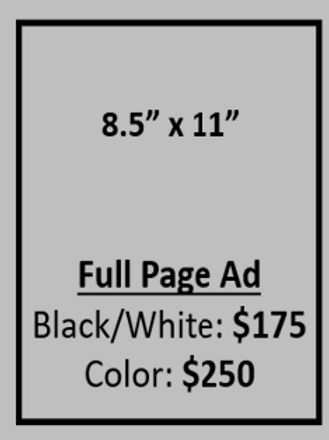 AD - FULL PAGE BLACK & WHITE