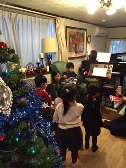 クリスマス会の様子