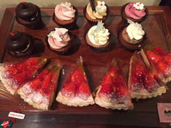 NYカップケーキとタルト