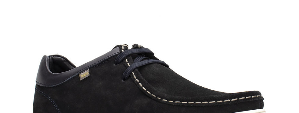 Base London - Dougie Suede - Navy